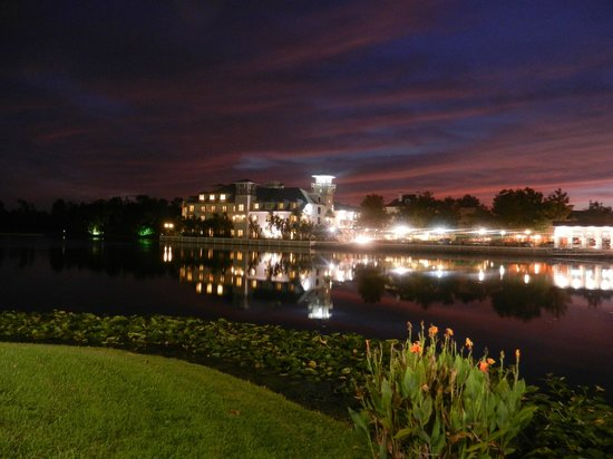 Bohemian Hotel Celebration, Autograph Collection:                   Night Shot from across the lake