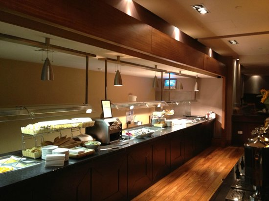 Hilton Dublin Airport:                   Breakfast bar at Dublin Airport Hilton