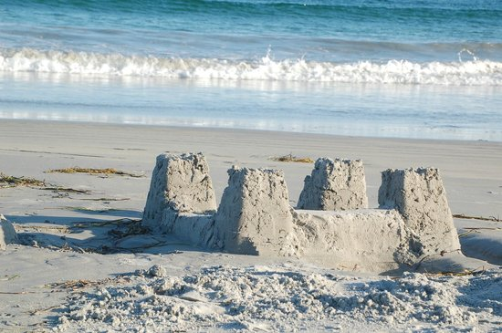 Lockeport, Canada: Build a sand castle