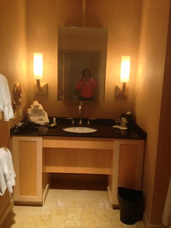 Westin St. Louis:                   Bathroom.