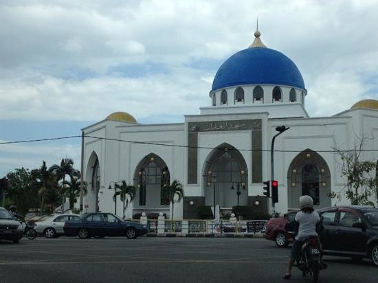                   The Blue Mosque in Alor Star, Kedah!