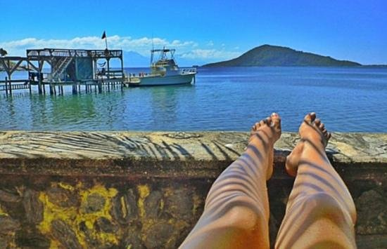 Baai-eilanden, Honduras:                                     lazy afternoon