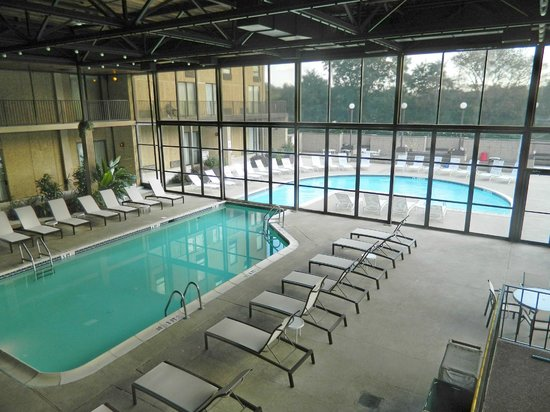 Indoor Outdoor Pool Picture Of Radisson Hotel