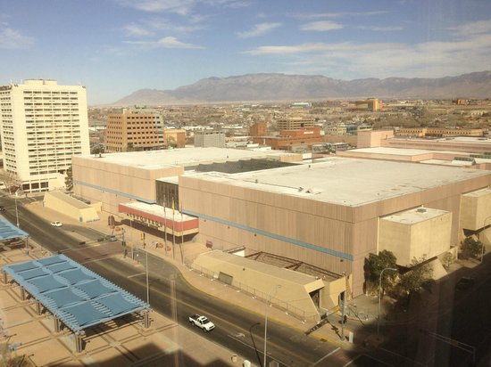 Hyatt Regency Albuquerque:                   Mountain view, 12th floor