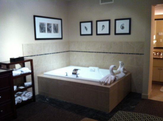 Empress Hotel of La Jolla:                   Lovely jacuzzi tub to soak in as long as you please!