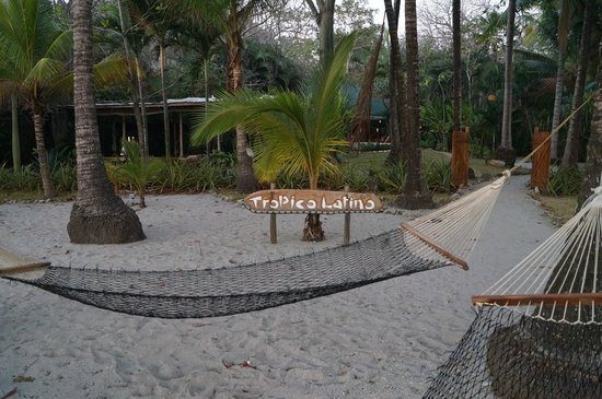 Hotel Tropico Latino:                                     Beach lounge area