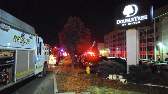 DoubleTree by Hilton Hotel Denver - Stapleton North: Denver's Fire Department is Wonderful