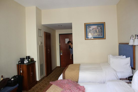 Wyndham Garden Hotel Baronne Plaza:                   our basic room