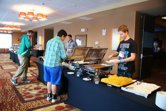 Courtyard By Marriott Mankato:                   Taco Buffet