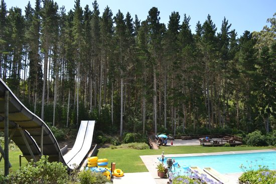 Plettenberg Bay, South Africa:                                     Seating area