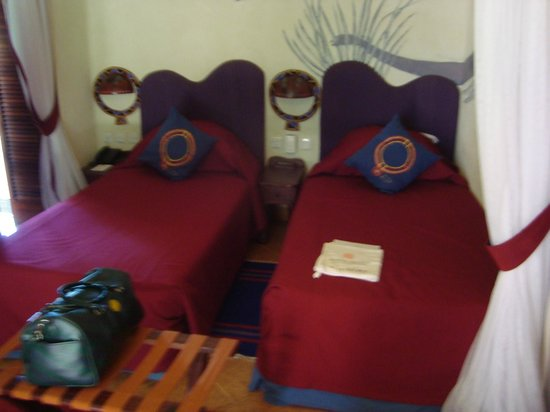Amboseli Serena Safari Lodge:                   Tiny beds