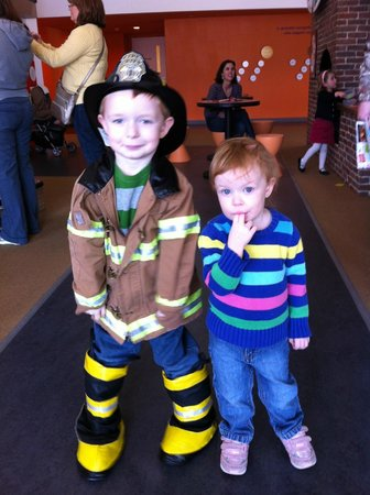 Oxon Hill, MD:                                     Fireman costume