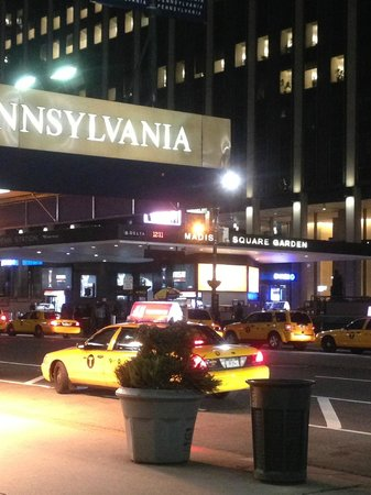 Hotel Pennsylvania New York:                   Outside