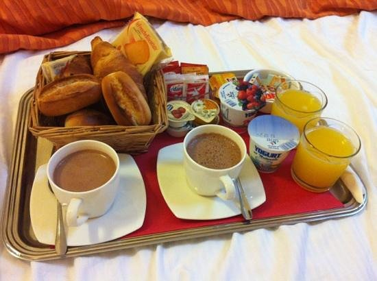 Bed & Breakfast Diamante: petit dejeuner