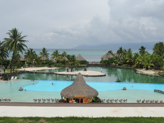InterContinental Resort Tahiti:                   Main Pool Area