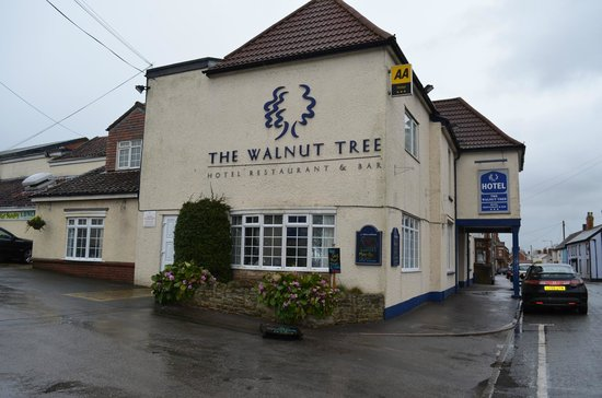 The Walnut Tree Hotel:                                     On the old A38 with lots of free parking