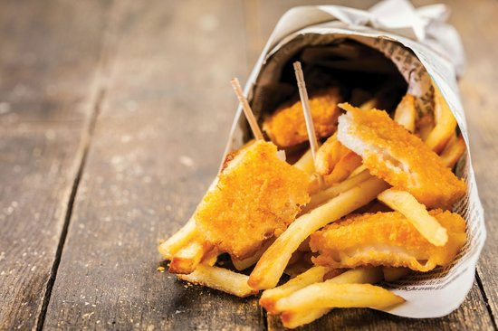 Scotts of Helmsley: Take away fish and chips