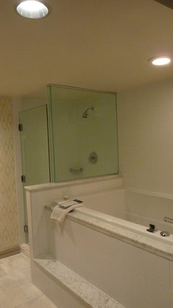 Palomar Washington DC, a Kimpton Hotel:                   Bathroom with a jacucci