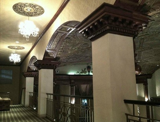 The Providence Biltmore:                   mezzanine level, nothing but pleasant