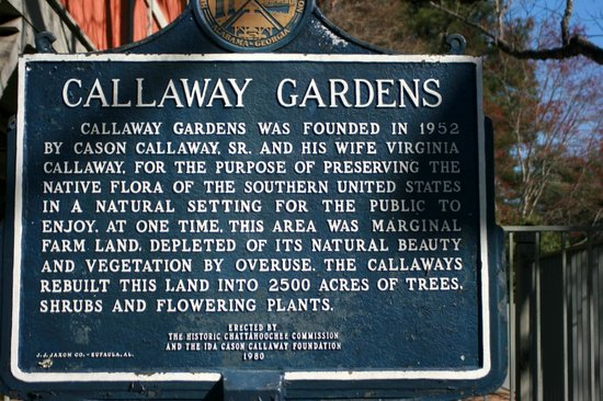 Signage Picture Of Callaway Gardens Pine Mountain
