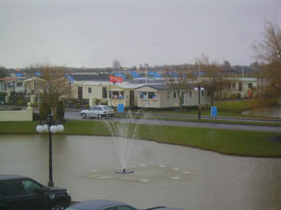 Pond Out Side Of Room Window Picture Of Southview Leisure Park Park Resorts Skegness