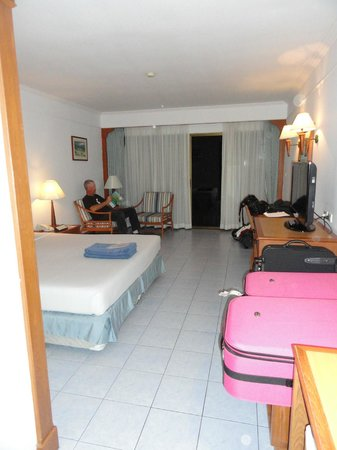 Amora Beach Resort:                   View inside room