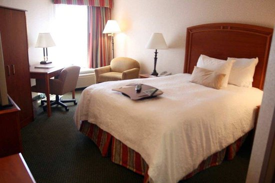 Hampton Inn St. Louis - NW I-270: One Double Room