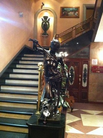 Hotel Gillow: lobby