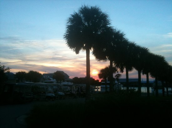 Bald Head Island, Carolina del Nord:                   Sunset