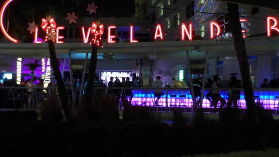 Clevelander Hotel: bar