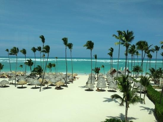 Iberostar Grand Hotel Bavaro:                   view from the gym