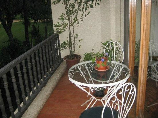 Villas de Cariari: The apartment balcony