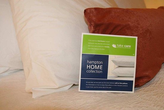 Hampton Inn Athens: Take Care