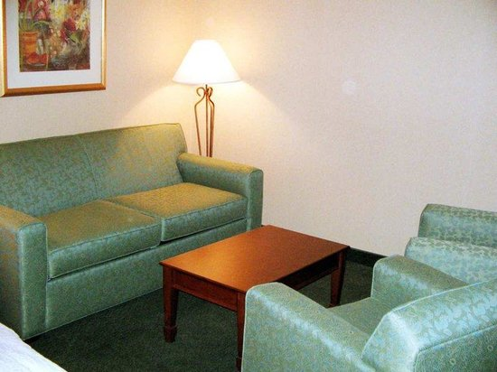 Hampton Inn Fairfax City: King Suite Living Room Area