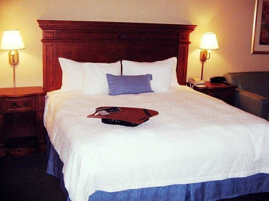 Hampton Inn Fairfax City: King Standard Room