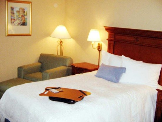 Hampton Inn Fairfax City: Double Accessible Room