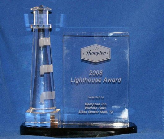 Hampton Inn Wichita Falls: 2008 Lighthouse Award Winner