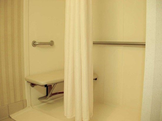 Hampton Inn Panama City Beach : Accessible Shower