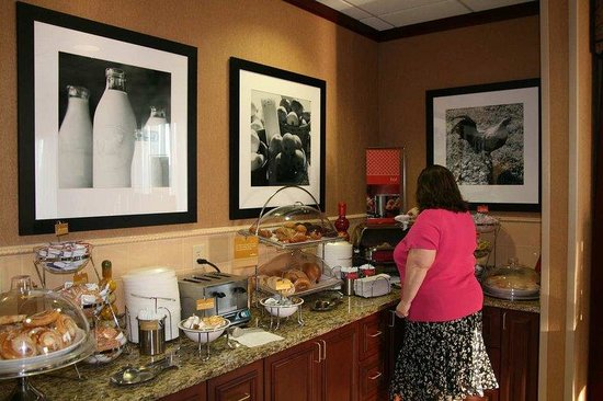 Hampton Inn Plover / Stevens Point: Breakfast Area