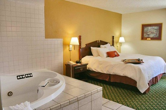 Hampton Inn Decatur: King with Whirlpool