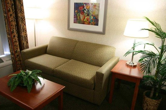 Hampton Inn &amp; Suites Wilmington: Suite Sitting Area