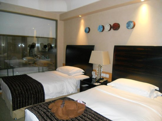 Marco Polo Parkside Beijing: Twin Beds Good Sleeps