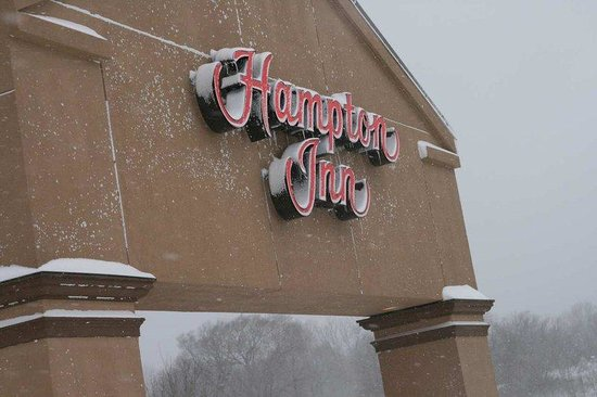 Hampton Inn St. Joseph I-94: Hotel Winter