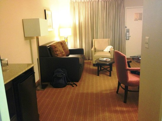 Embassy Suites Alexandria-Old Town: Typical Embassy Suites- relatively spacious