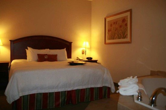 Hampton Inn &amp; Suites Lafayette : Whirlpool Suite 