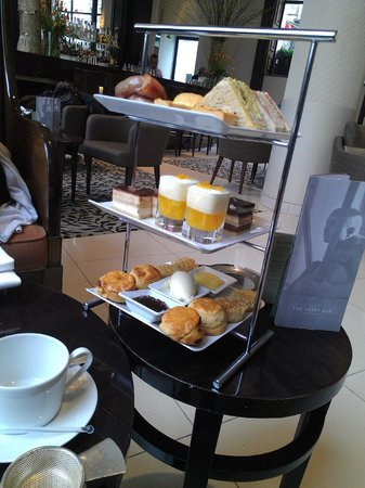 One Aldwych: Afternoon tea - waiting for the tea, though!