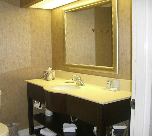 Hampton Inn Dover: Bathroom