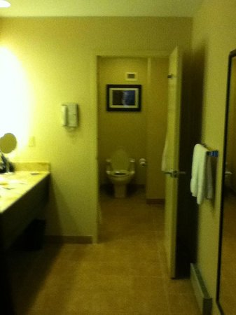 Sheraton Eatontown Hotel: Split bathroom -Sink/dressing area in separate room from bath/toilet.SO CONVENIENT for getting r