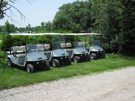 Shelbyville, IL: Rental Golf Carts