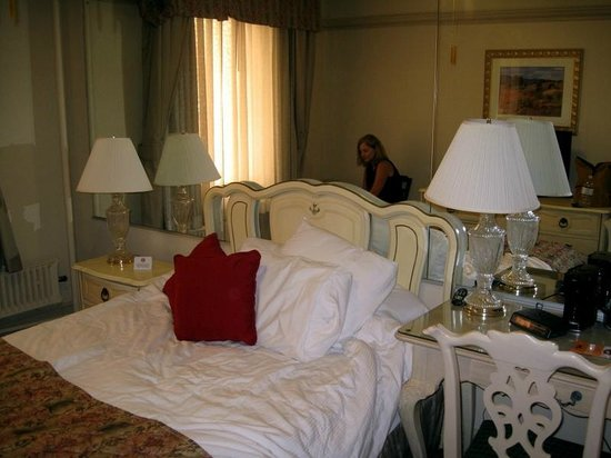 Hotel San Carlos:                   Bed was comfortable (I made it not the maid)